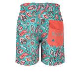 BOHO Shorts Jongens Paisley Sea Green_