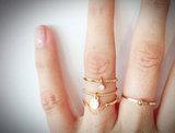 Charmin's ringen staal & goud