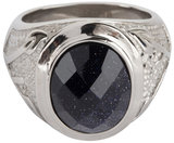 586-charmin's-ring-vintage-seal-black-faced-cz-shiny-steel