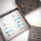 Charmin's ringen staal & natural stones