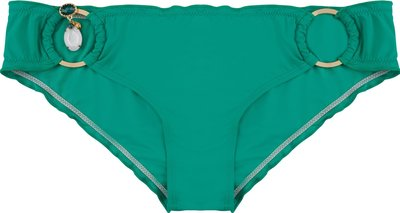 BOHO Bikini Bottom 'Brazilian' Smaragd Green