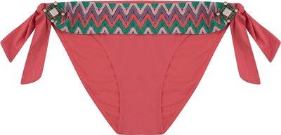 BOHO Bikini Bottom 'Briliant Spacious' Coral