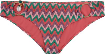 BOHO Bikini Bottom 'Exclusive Aztec' Coral