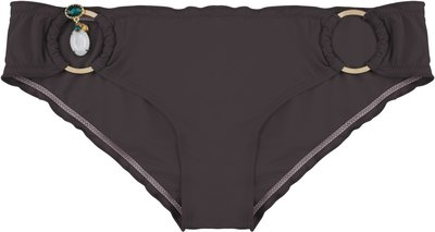 BOHO Bikini Bottom 'Exclusive Brazilian' Dark Taupe