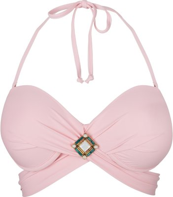 BOHO Bikini Top 'Briliant Wrap' Sweet Pink