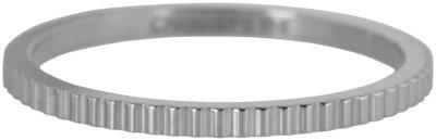 Ring R398 Steel 'Shiny Bricks'