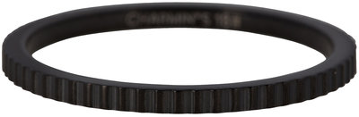 Ring R401 Black 'Steel Bricks'