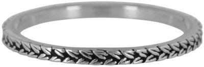 Ring R447 Steel 'Shiny Braids'
