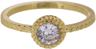 Ring R436 Gold 'Steel Iconic'