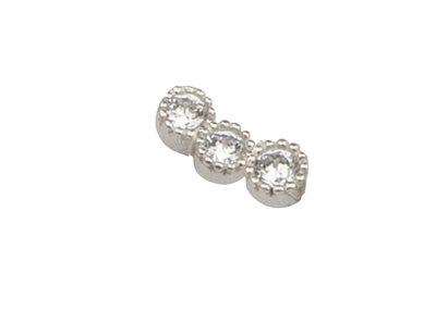 LL02 'Threestone' Earring