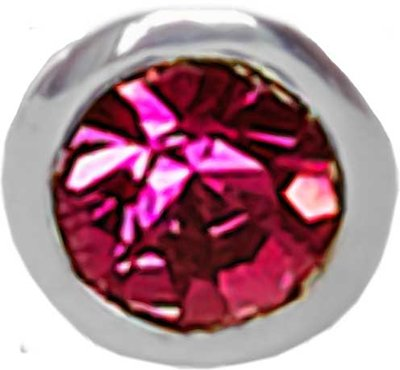 E13 Dark Pink 'Round Diamond'