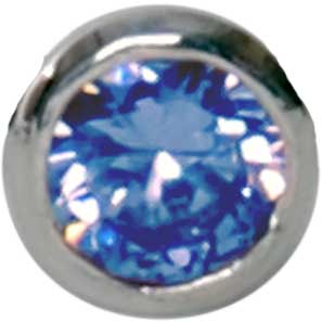 E14 Aquamarine 'Round Diamond'