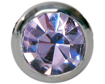 E09 Lila 'Round Diamond'