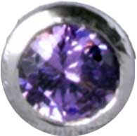 E12 Purple 'Round Diamond'