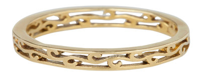 Ring XL85 Goldlook 'Wave'
