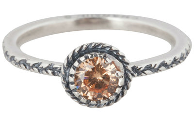 Ring R288 Champaign 'Diamond Crown'