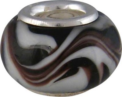 Kraal 'Black & White Wirl'