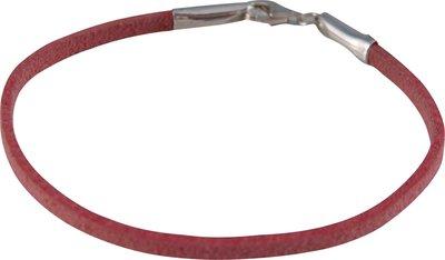 Armband 'Leather Pink'