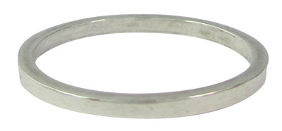 Ring R001 Silver 'The Base'