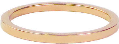 Ring R315 Rosé 'Plain Steel'