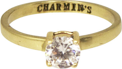 Ring KR52 'Princess Diamond' Gold