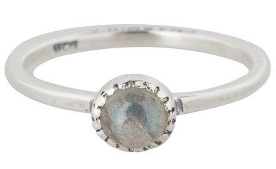 Ring R296 Labradorite 'Natural Stone'