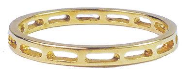 Ring XL83 Goldlook 'Window'