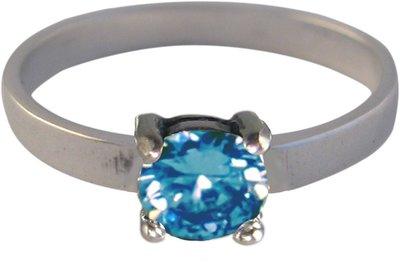 Ring KR32 'Princess Diamond' Ocean
