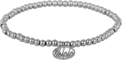 OHB11 Ohlala! Bracelet 4mm Shiny Steel