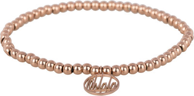 OHB13 Ohlala! Bracelet 4mm Rose Gold