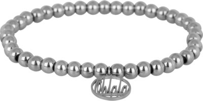 OHB14 Ohlala! Bracelet 5mm Shiny Steel