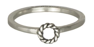 Ring R230 Silver 'Open Twist'