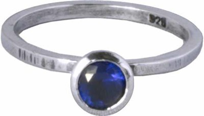 OP=OP Ring R151 Dark Blue 'Round Diamond' STAFFELKORTING