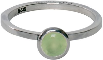 OP=OP Ring R137 Milky Green 'Round Diamond' STAFFELKORTING