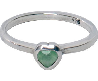 OP=OP Ring R021 Milky Green 'Crystal Love' STAFFELKORTING