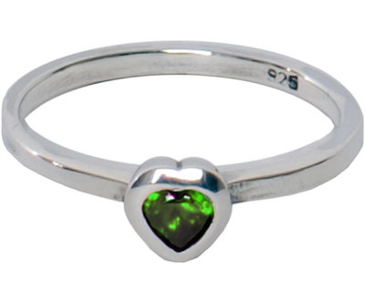 OP=OP Ring R020 Olive 'Crystal Love' STAFFELKORTING