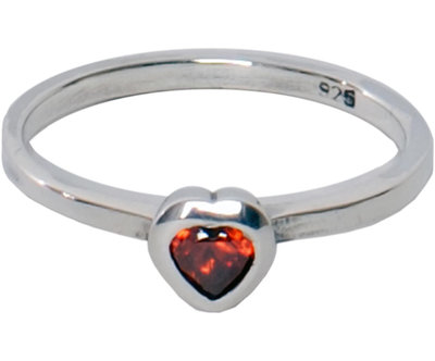 OP=OP Ring R017 Red 'Crystal Love' STAFFELKORTING