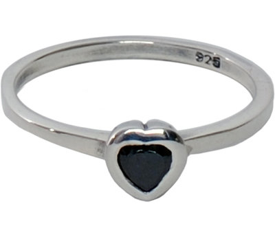 OP=OP Ring R016 Black 'Crystal Love' STAFFELKORTING