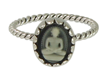 OP=OP Ring R258 Black 'Cameo' STAFFELKORTING