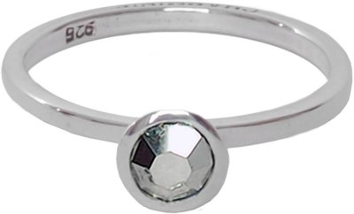 OP=OP Ring R117 Silvershine 'Round Diamond' STAFFELKORTING