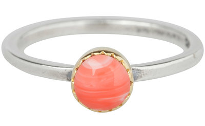OP=OP Ring R265 Natural Pink 'Goldtop' STAFFELKORTING