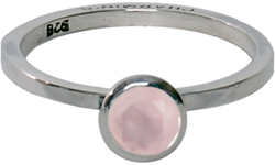 OP=OP Ring R215 Milky Pink 'Round Diamond' STAFFELKORTING