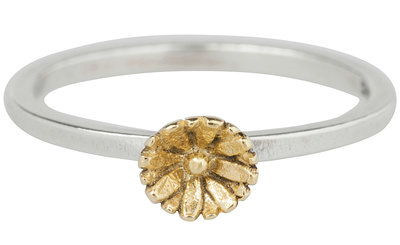 OP=OP Ring R270 Gold 'Lotus' STAFFELKORTING