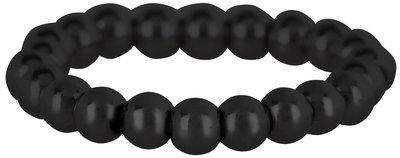Ring R478 Black 'Stretch Shiny Medium'