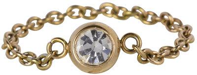 Ring R464 Gold 'Shiny Devotion'