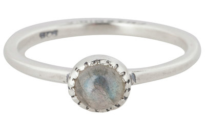 Ring R296 Labradorite 'Natural Stone'