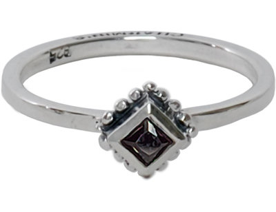 Ring R006 Black 'Diamond Ace'