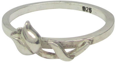 Ring R078 Silver  'Dutch Lover'