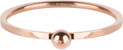 R530 Dot Ring Rose Gold Steel