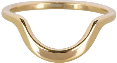 R553 Half Moon Plain Gold Steel